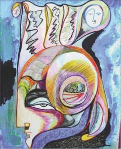 hanghalló festménye