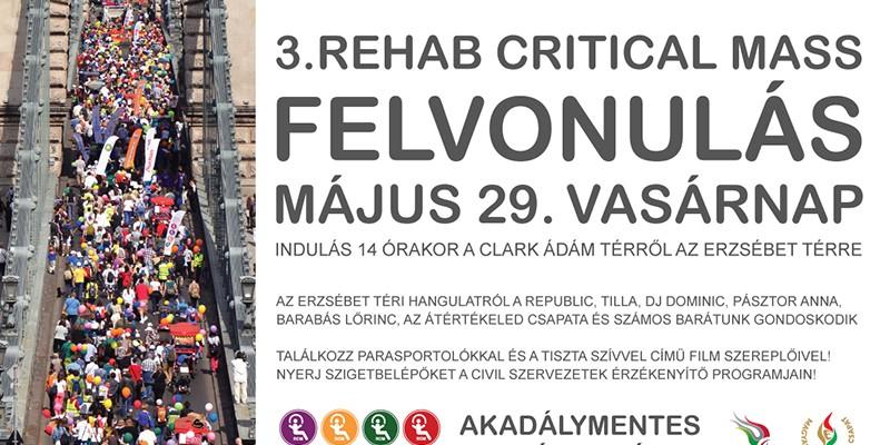 Rehab Critical Mass felvonulás