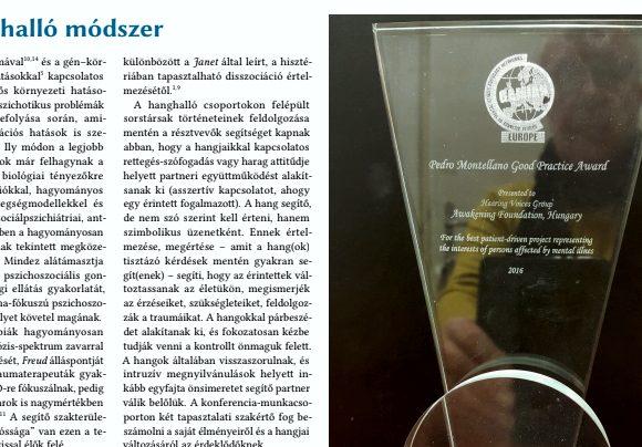 A Hanghalló Módszer a Magyar Pszichiátriai Társaság XXIII. Vándorgyűlésén